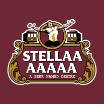 stella on maroon
